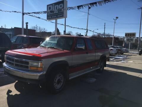 1993 Dodge Dakota for sale at Dino Auto Sales in Omaha NE
