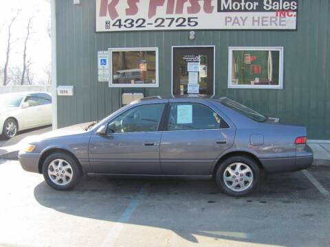 1999 Toyota Camry for sale at R's First Motor Sales Inc in Cambridge OH