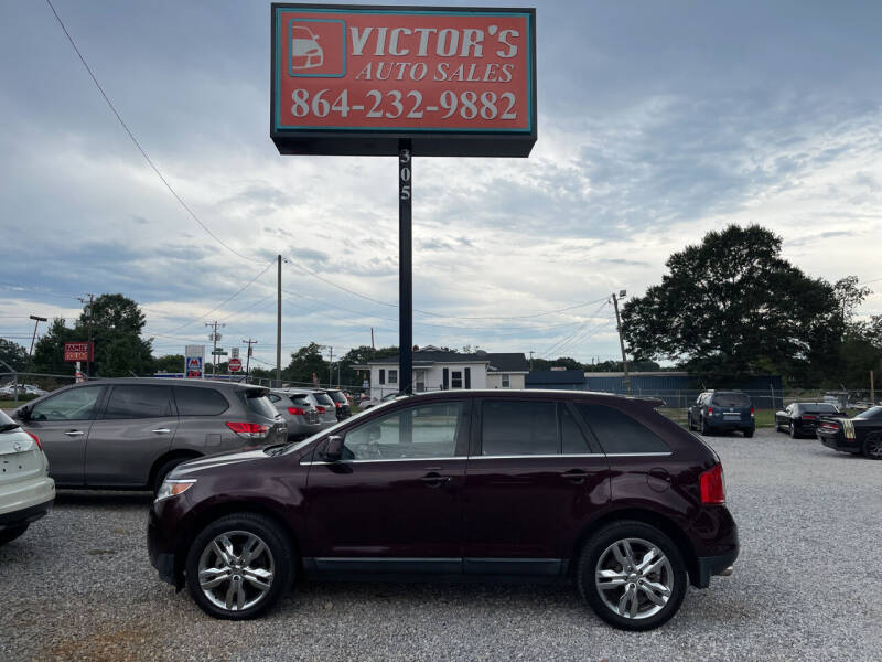2011 Ford Edge for sale at Victor's Auto Sales in Greenville SC