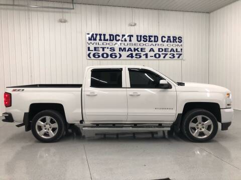 2016 Chevrolet Silverado 1500 for sale at Wildcat Used Cars in Somerset KY