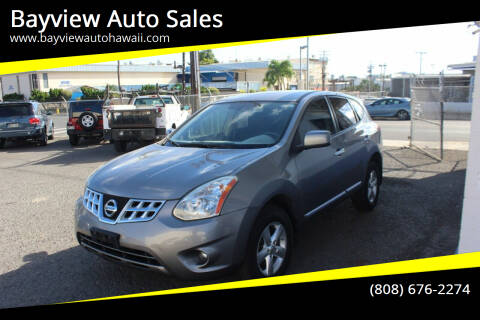 2013 Nissan Rogue for sale at Bayview Auto Sales in Waipahu HI