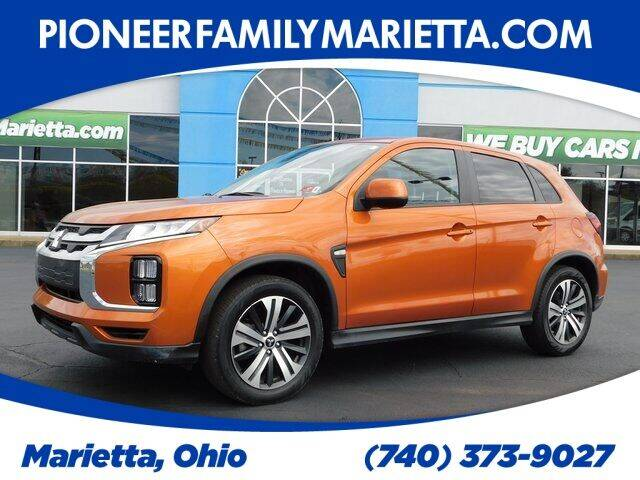 2020 Mitsubishi Outlander Sport for sale at Pioneer Family preowned autos in Williamstown WV