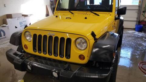 2009 Jeep Wrangler for sale at MARVIN'S AUTO BODY in Farmington ME