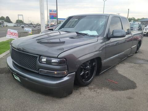 2002 Chevrolet Silverado 1500 for sale at Artistic Auto Group, LLC in Kennewick WA