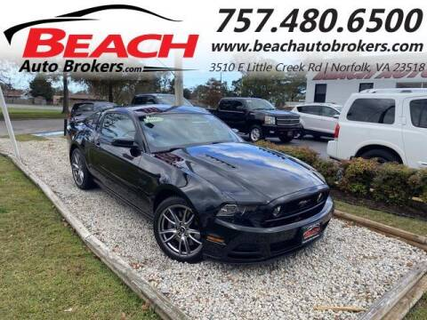 2014 Ford Mustang for sale at Beach Auto Brokers in Norfolk VA