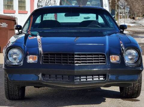 1978 Chevrolet Camaro for sale at Classic Car Deals in Cadillac MI