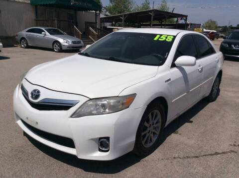 2011 Toyota Camry Hybrid for sale at OASIS PARK & SELL in Spring TX