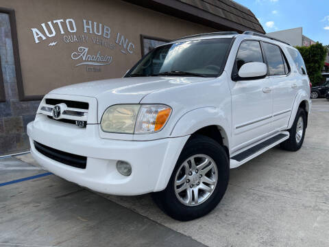 2005 Toyota Sequoia for sale at Auto Hub, Inc. in Anaheim CA