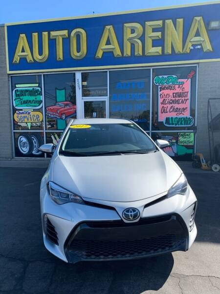 2017 Toyota Corolla for sale at Auto Arena in Fairfield OH