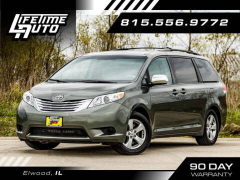 2011 Toyota Sienna for sale at Lifetime Auto in Elwood IL