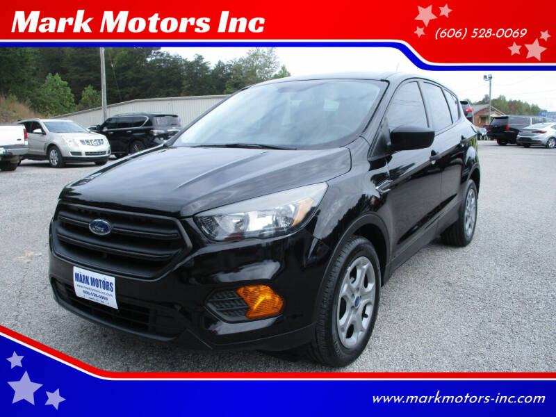 2018 Ford Escape for sale at Mark Motors Inc in Gray KY