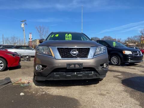 2014 Nissan Pathfinder for sale at Automotive Center in Detroit MI