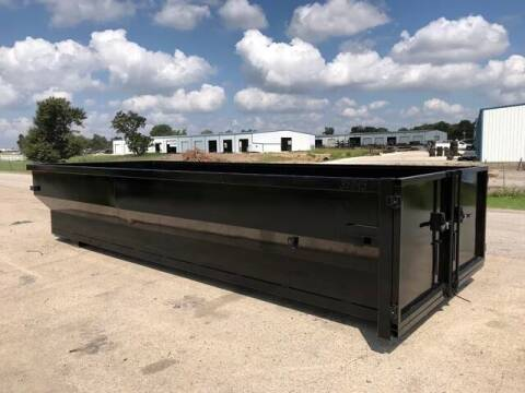 2021 TEXAS PRIDE 20' 18 Yard Roll Off Dumpster for sale at Montgomery Trailer Sales - Texas Pride in Conroe TX