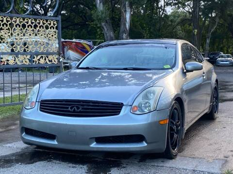2005 Infiniti G35 for sale at Pioneers Auto Broker in Tampa FL