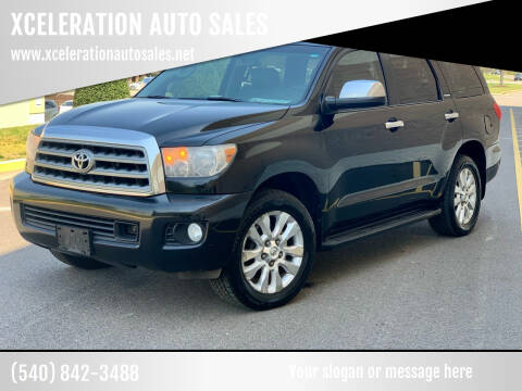 2008 Toyota Sequoia for sale at XCELERATION AUTO SALES in Chester VA
