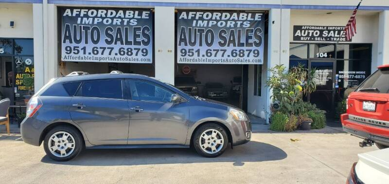 2009 Pontiac Vibe for sale at Affordable Imports Auto Sales in Murrieta CA