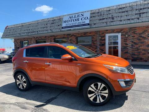 2011 Kia Sportage for sale at Allen Motor Company in Eldon MO