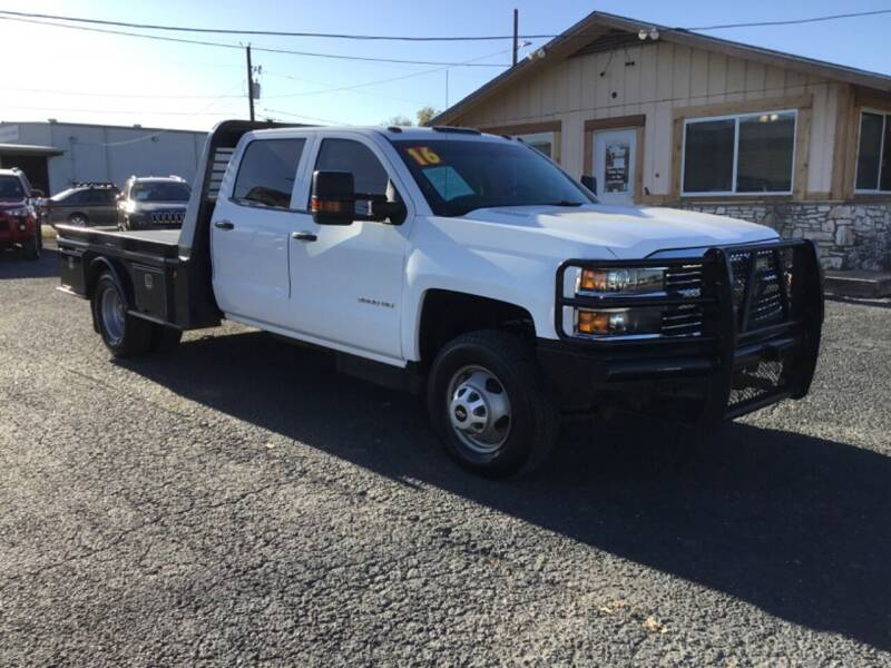 2016 Chevrolet Silverado 3500HD for sale at The Trading Post in San Marcos TX