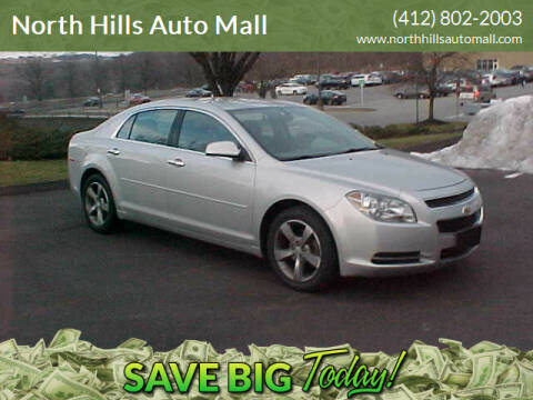 2012 Chevrolet Malibu for sale at North Hills Auto Mall in Pittsburgh PA