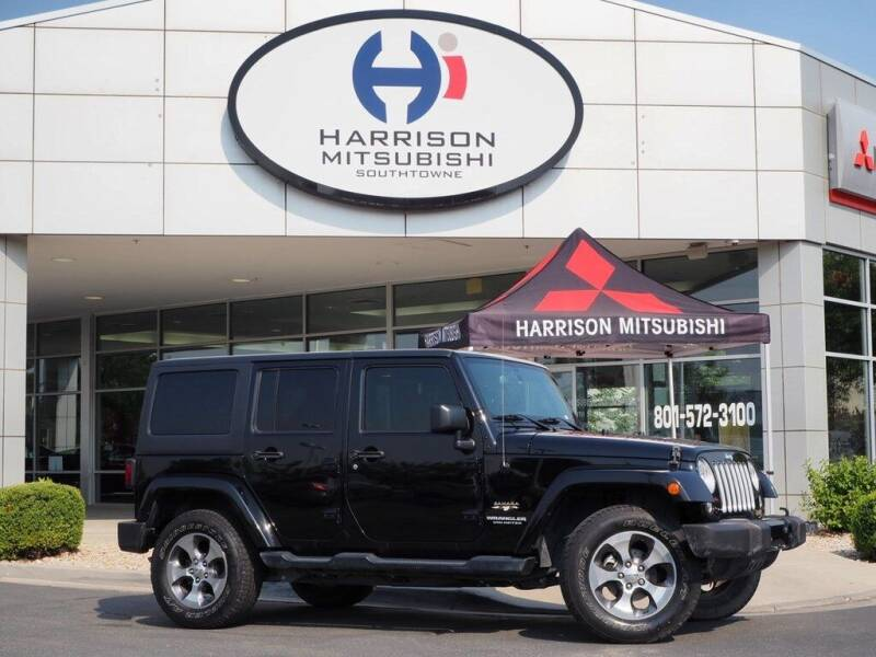 2016 Jeep Wrangler Unlimited for sale at Harrison Imports in Sandy UT