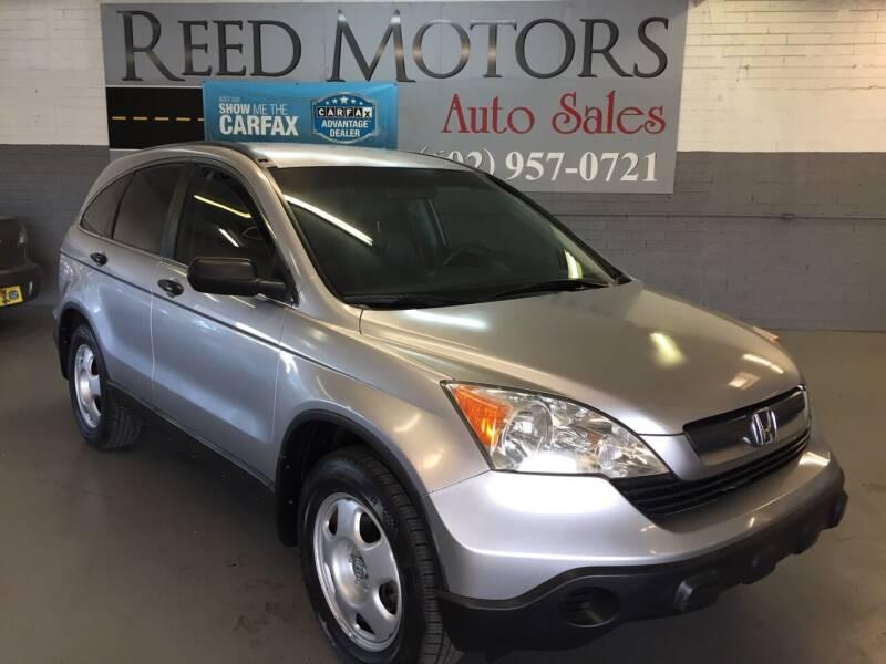 2008 Honda CR-V for sale at REED MOTORS LLC in Phoenix AZ