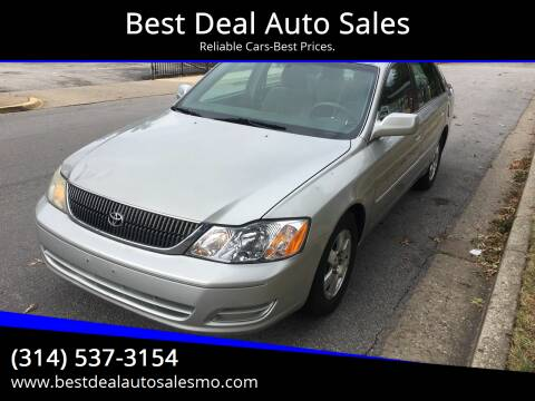 2001 Toyota Avalon for sale at Best Deal Auto Sales in Saint Charles MO