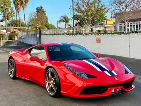 2015 Ferrari 458 Speciale for sale at Corsa Exotics Inc in Montebello CA