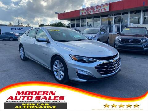 2019 Chevrolet Malibu for sale at Modern Auto Sales in Hollywood FL
