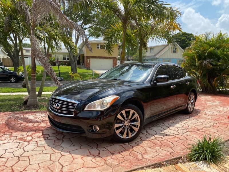 2013 Infiniti M37 for sale at ONYX AUTOMOTIVE, LLC in Largo FL