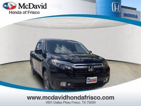 2017 Honda Ridgeline for sale at DAVID McDAVID HONDA OF IRVING in Irving TX