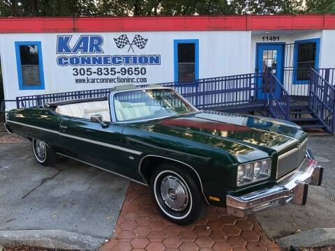 1975 Chevrolet Caprice for sale at Kar Connection in Miami FL