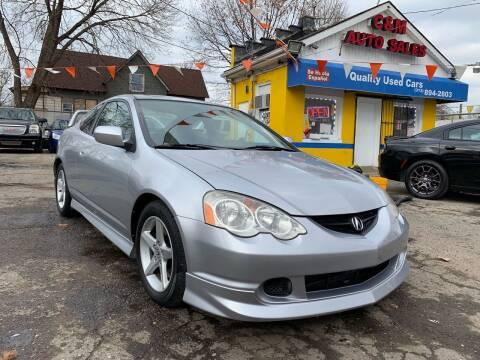 2004 Acura RSX for sale at C & M Auto Sales in Detroit MI