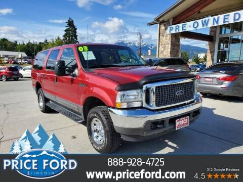 2003 Ford Excursion for sale at Price Ford Lincoln in Port Angeles WA