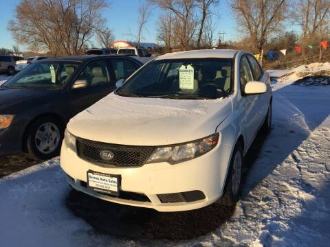 2010 Kia Forte for sale at BARNES AUTO SALES in Mandan ND