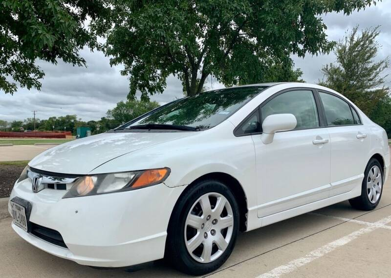 2008 Honda Civic for sale at Driveline Auto Solution, LLC in Wylie TX