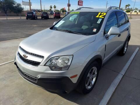 2012 Chevrolet Captiva Sport for sale at Century Auto Sales in Apache Junction AZ