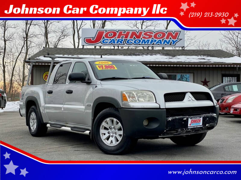 2006 Mitsubishi Raider for sale at Johnson Car Company llc in Crown Point IN