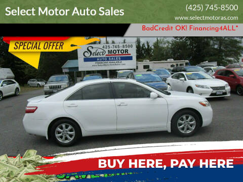 2007 Toyota Camry for sale at Select Motor Auto Sales in Lynnwood WA