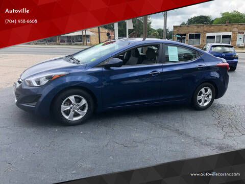 2015 Hyundai Elantra for sale at Autoville in Kannapolis NC