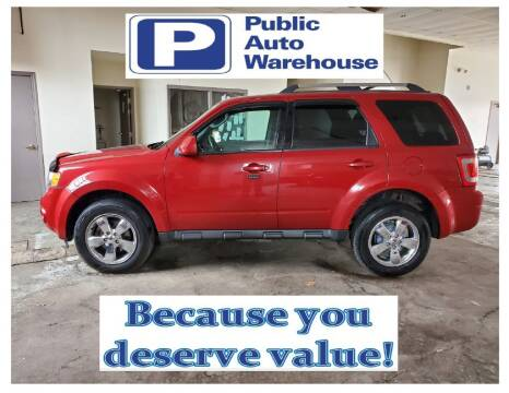 2010 Ford Escape for sale at Public Auto Warehouse in Pekin IL