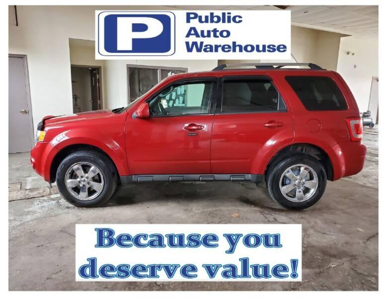 2010 Ford Escape for sale at Public Auto Warehouse in Pekin IL