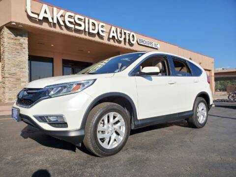 2016 Honda CR-V for sale at Lakeside Auto Brokers Inc. in Colorado Springs CO