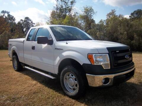 2013 Ford F150 XL 4x4 Extended Cab for sale at Venture Auto Sales Inc in Augusta GA