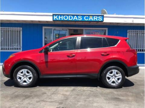 2015 Toyota RAV4 for sale at Khodas Cars in Gilroy CA