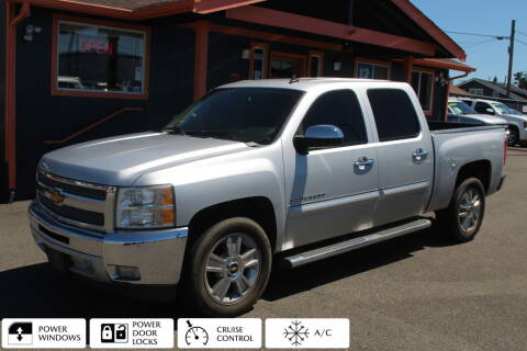 2013 Chevrolet Silverado 1500 for sale at Sabeti Motors in Tacoma WA