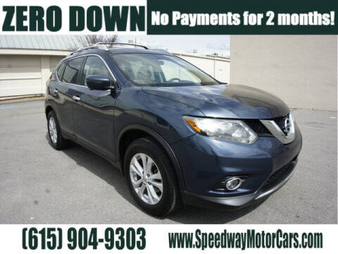 2016 Nissan Rogue for sale at Speedway Motors in Murfreesboro TN