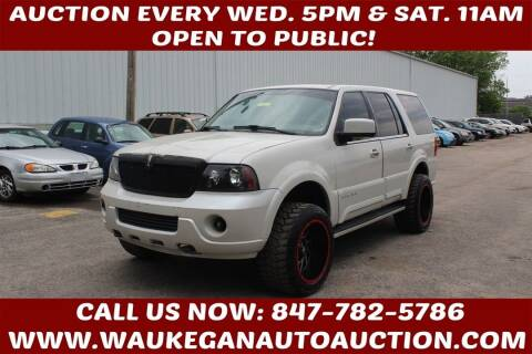 2004 Lincoln Navigator for sale at Waukegan Auto Auction in Waukegan IL