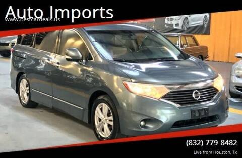 2011 Nissan Quest for sale at Auto Imports in Houston TX