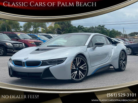 2015 BMW i8 for sale at Classic Cars of Palm Beach in Jupiter FL