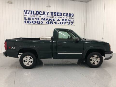 2004 Chevrolet Silverado 1500 for sale at Wildcat Used Cars in Somerset KY